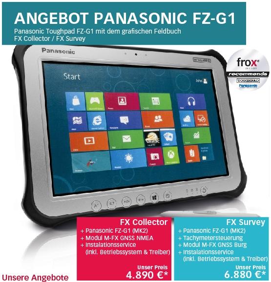 FX Angebot mit Panasonic FZ-G1