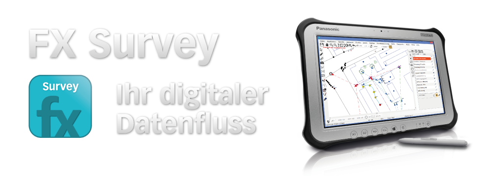 FX Survey digitaler Datenfluss