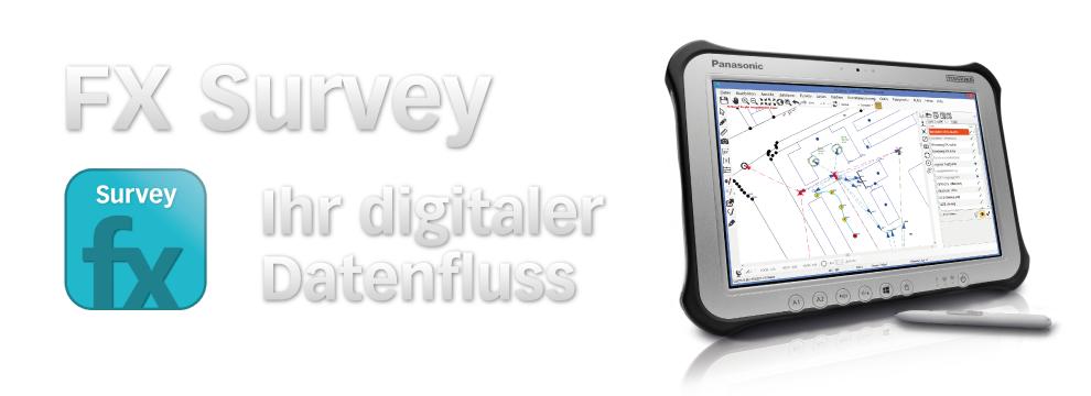 FX Survey digitaler Datenfluss