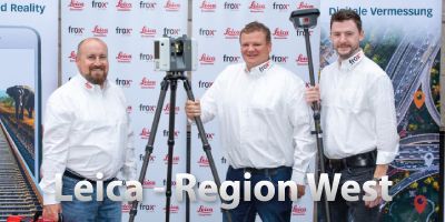 Leica Verteib in der Region West - frox Team