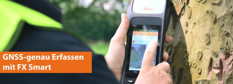 Hochgenaues GNSS mit FX Smart