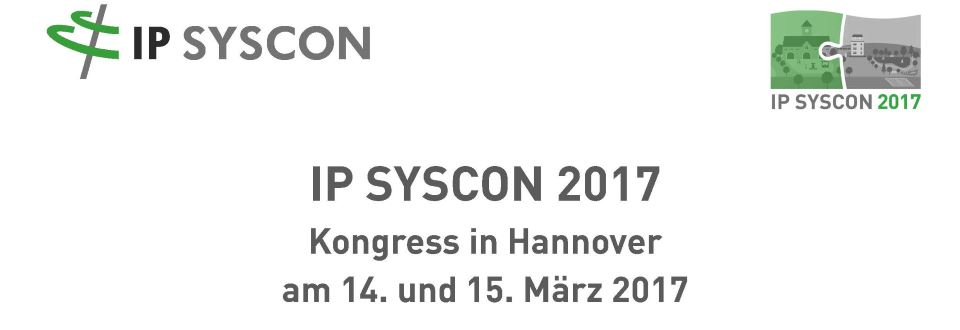 IPSYSCON 2017 in Hannover
