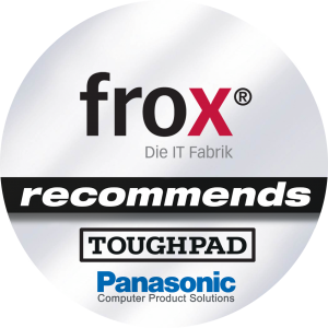 Partnerlogo Toughpad Panasonic frox