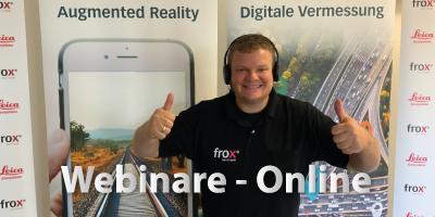frox Webinare und Online Präsentationen