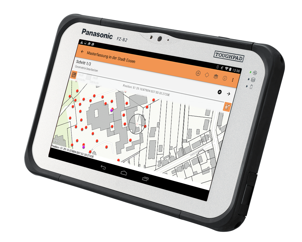 Panasonic Toughpad FZ-B2 mit FX Smart