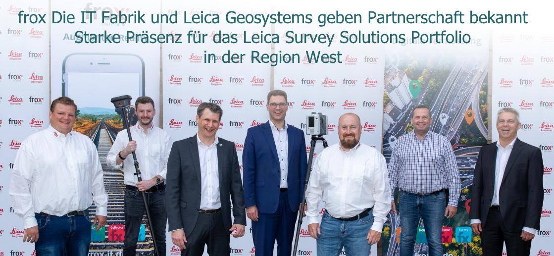 rox und Leica Partnerschaft in der Region West